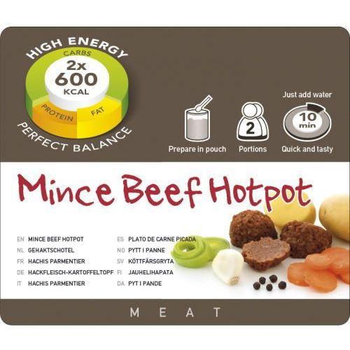 mince beef hotpot żywność kempingowa podwójna porcja żywność liofilizowana marki Adventure food