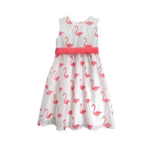 03718787d6 sukienka dziewczęca 98 biała marki Topo