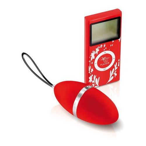 Plaisirs secrets Jajeczko wibrujące - vibrating egg red