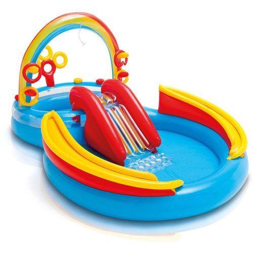 basen tęczowe centrum zabaw marki Intex