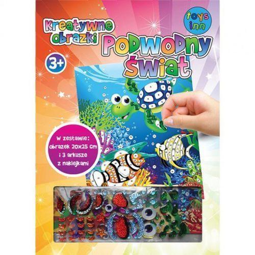 Kreatywne obrazki. Podwodny świat - TKC-EP100A (5901583292781)