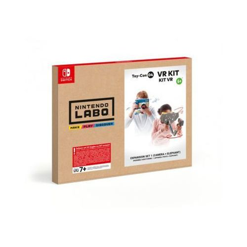 Nintendo Labo: VR Kit - Expansion Set 1 - Akcesoria do konsoli do gier - Nintendo Switch (0045496431150)