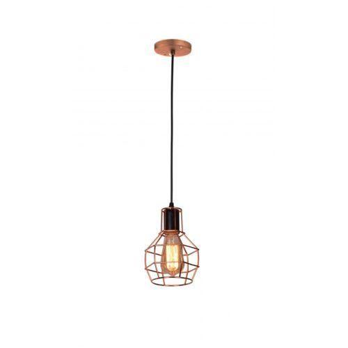 CARRON 1 LAMPA WISZĄCA MD50148-1 AZZARDO, kolor miedziany