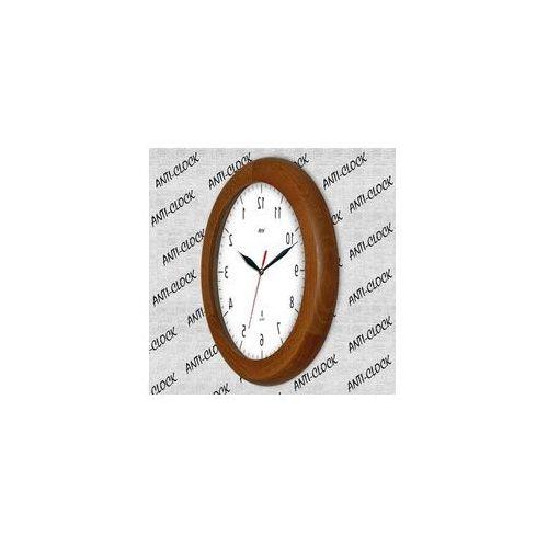 Atrix Zegar drewniany rondo rewers lustro #1