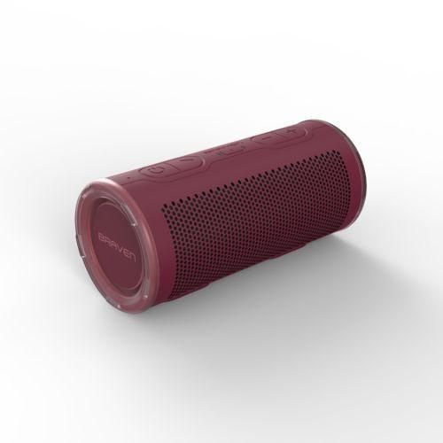 Braven brv 360 - przenośny głośnik bluetooth (czerwony)