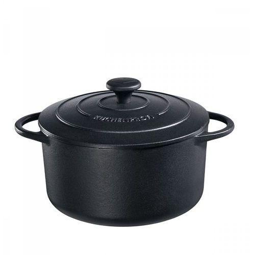 Kuchenprofi Garnek 4,2l z pokrywką do zapiekania provence czarny