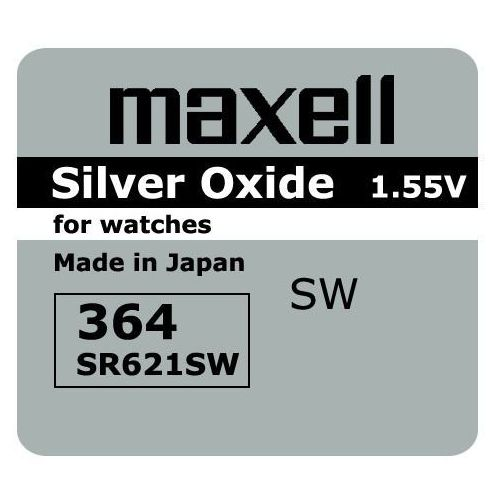 bateria srebrowa mini Maxell 364 / SR 621 SW / G1 (4902580132224)