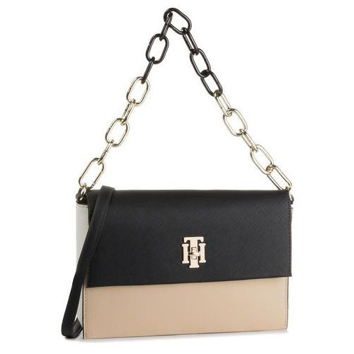 Torebka TOMMY HILFIGER - Th Saffiano Crossover AW0AW06808 901