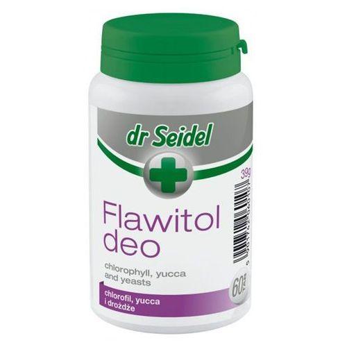 Flawitol deo witaminy dla psa i kota 60 tabletek marki Dr seidel