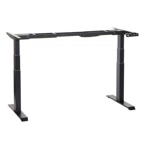 Stema-shb Dwusilnikowy stelaż metalowy biurka (stołu) z elektryczną regulacją wysokości, kolor czarny, shb320-d650-f/b