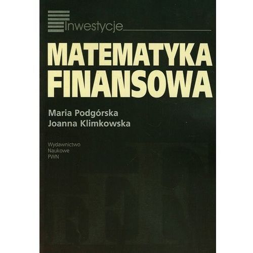 Matematyka finansowa, Wydawnictwo Naukowe PWN