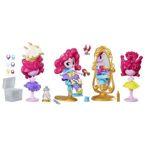 My little pony equestria girls minis - piżamowe party sypialnia pinkie pie b4911 (5010994941314)