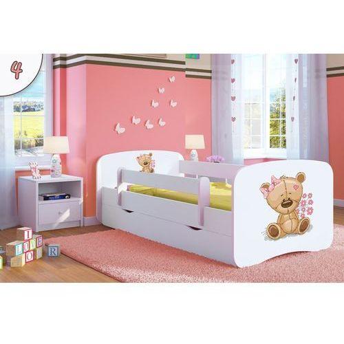 Łóżko dziecięce babydreams miś z kwiatami kolory negocjuj cenę marki Kocot-meble