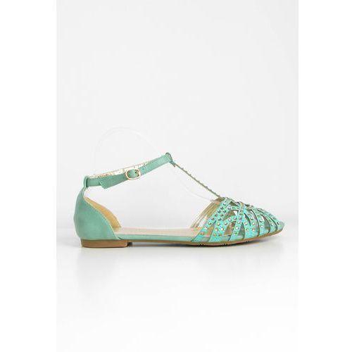 Sandałki meliski z cyrkoniami marki Zoio