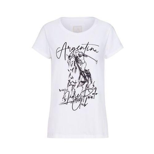 La Martina Koszulka 'WOMAN S/S COTTON JERSEY T-SHIR' biały
