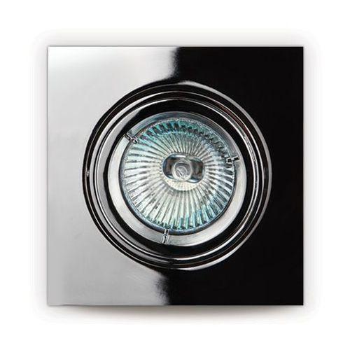 Oczko lampa oprawa wpuszczana downlight MAXlight 1X50W GU5.3 12V chrom H0041