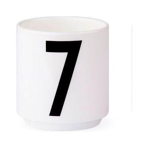 Filiżanki do espresso aj cyfra 7 marki Design letters