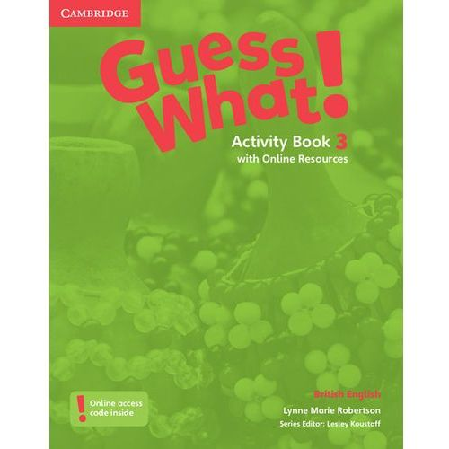 Guess What! 3 Activity Book with Online Resources - Wysyłka od 3,99 (2016)