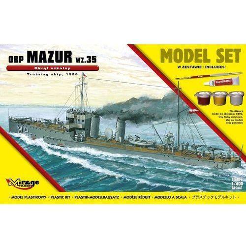 """Mirage Okręt szkolny orp """"mazur"""" (5901463840613)"""