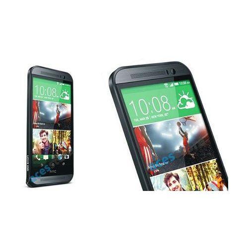 Bumper Aluminium do HTC One M8 Czarny - Czarny, kolor czarny