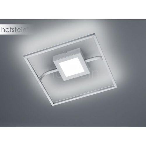 Natynkowa LAMPA sufitowa SAMBO 670110207 Trio kwadratowa OPRAWA ramka LED 22W plafon matowy nikiel (4017807383966)