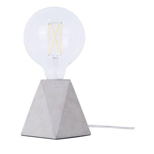 Lampa stołowa jasnoszara betonowa 12 cm SAJA (4260586358520)