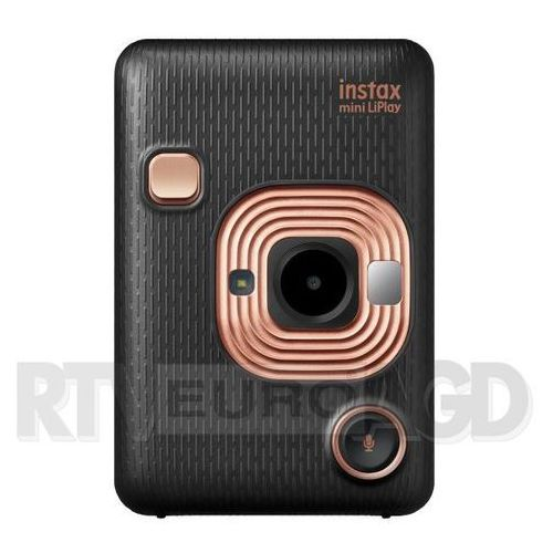 Fujifilm INSTAX Mini LipLay (czarny) + wkład (0000001195822)