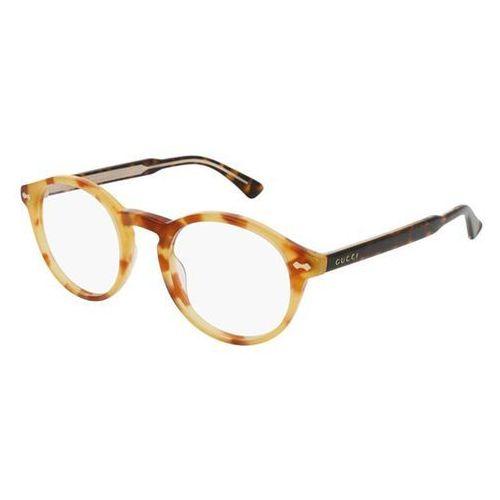 Gucci Okulary korekcyjne gg0127o 004