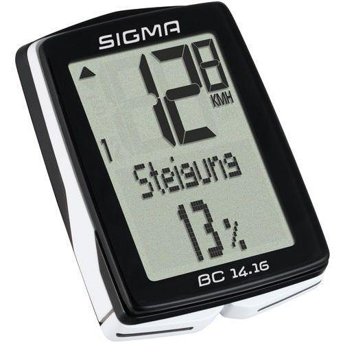 Sigma sport Sigma licznik bc 14.16 - przewodowy licznik rowerowy