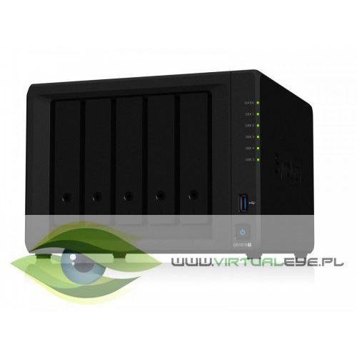 serwer nas ds1019+ 5x0hdd celeron 1,5ghz esata 2xusb3.0 2xrj45 3y marki Synology
