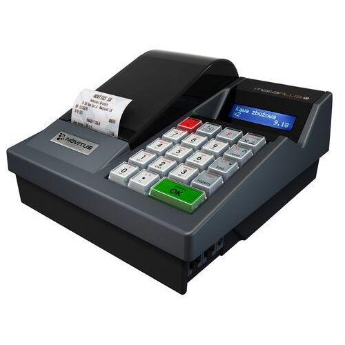 KASA MAŁA PLUS E Kasa fiskalna MAŁA PLUS E to najnowsza technologia dedykowana dla małych punktów sprzedaży realizująca rejestrację kopii wydruków na elektronicznym nośniku danych (karta SD)