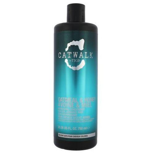 Tigi Catwalk Oatmeal & Honey Nourishing Conditioner 750ml W Odżywka do włosów zniszczonych
