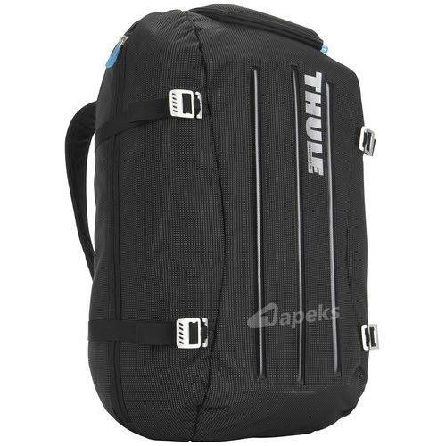 crossover 40l torba podróżna / plecak turystyczny / black - black marki Thule