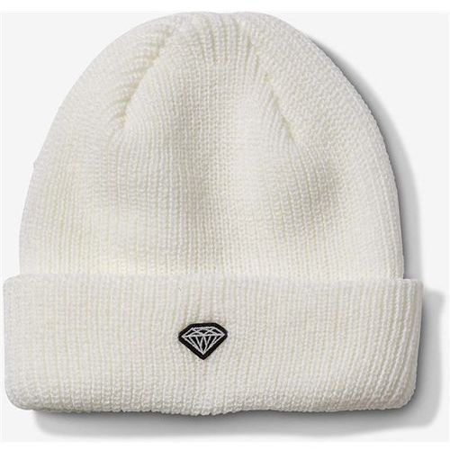 Czapka zimowa - brilliant patch beanie white (wht) marki Diamond