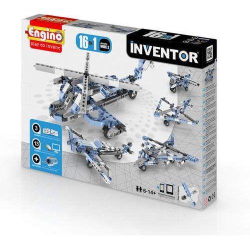 Engino Inventor 16 models aircrafts