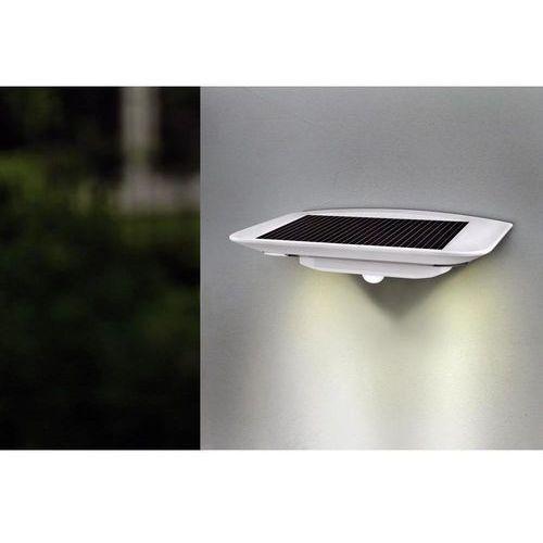 Lampa ścienna zewnętrzna zasilana solarnie ECO-Light P9014 SI, 6x0.4 W, LED wbudowany na stałe, 260 lm, 4100 K, IP44 (4250294308191)