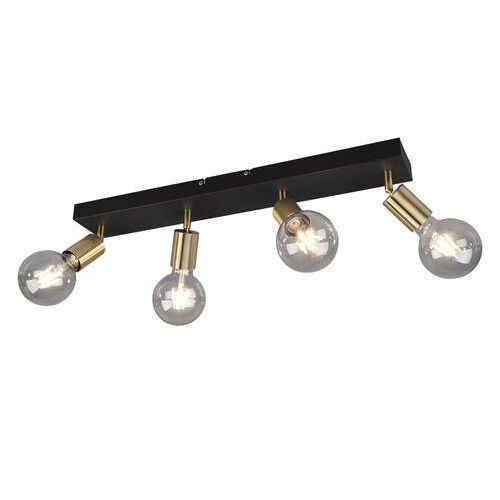 Trio RL Vannes R80184008 plafon lampa sufitowa 4x40W E27 brązowy, kolor Brązowy