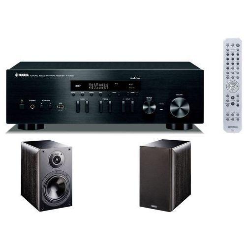 Yamaha Zestaw stereo r-n402d bl + indiana line nota 260 czarny (2909524805543)