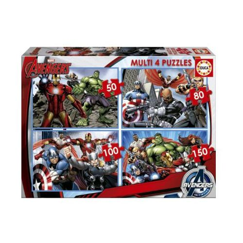 50-80-100-150 ELEMENTÓW Avengers