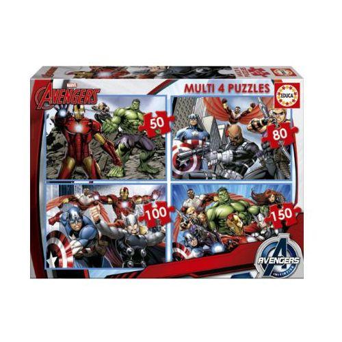 Educa 50-80-100-150 elementów avengers