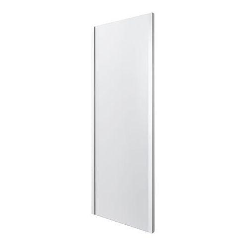 Ścianka prysznicowa naya 90 x 195 cm szkło transparentne marki Goodhome