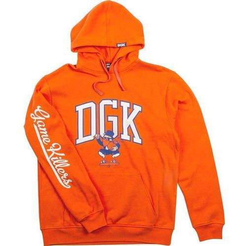 bluza DGK - Game Killers Hooded Fleece Orange (ORANGE) rozmiar: XL, kolor pomarańczowy