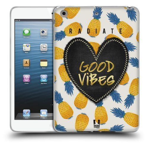 Head case Etui silikonowe na tablet - heart patches pineapple