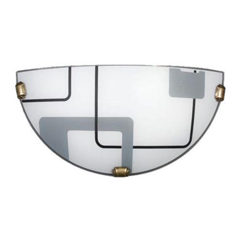 Kinkiet Quadro Biały K1 034/K1 ECO - Lampex - Sprawdź kupon rabatowy w koszyku