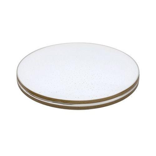 Rabalux Plafon lampa sufitowa oscar 3345 okrągła oprawa natynkowa led 18w z efektem gwiazd biała brązowa (5998250333458)