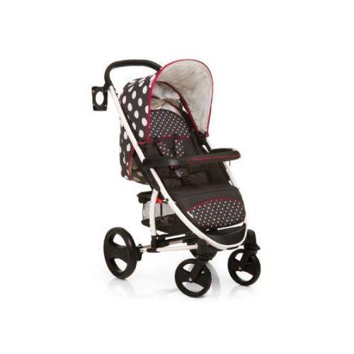 HAUCK Wózek spacerowy Malibu XL Dots black Kolekcja 2014/15 (4007923145043)