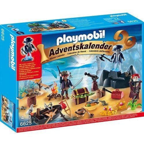 Playmobil CHRISTMAS Kalendarz adwentowy - tajemicza piracka wyspa skarbów 6625 - BEZPŁATNY ODBIÓR: WROCŁAW!