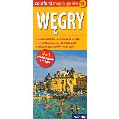Węgry comfort! map&guide XL - Praca zbiorowa (9788380461161)