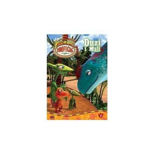 Cass film Dinopociąg. duzi i mali (dvd) (5905116010941)