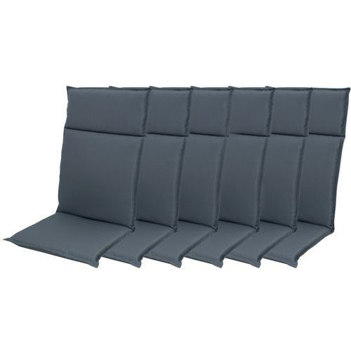 Doppler zestaw poduszek ogrodowych hit uni 7840 wysokie - 6 szt (9003034180947)